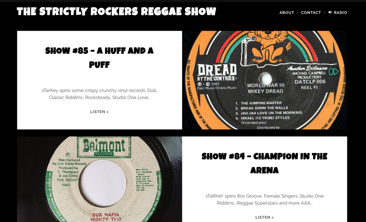 The Strictly Rockers Reggae Show
